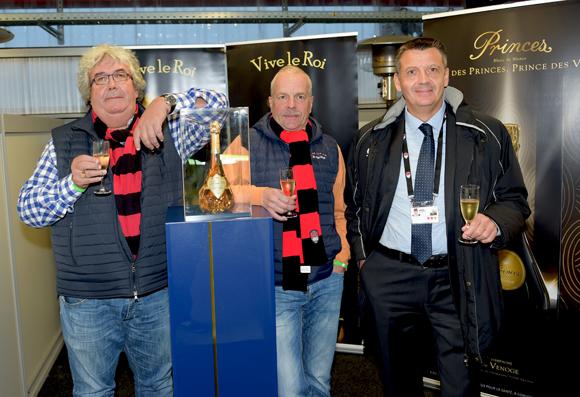 1. Maitre Eric Gauvin (Cabinet Gauvin), Jacky Richoz et Thierry Bouchet (Champagne de Venoge)