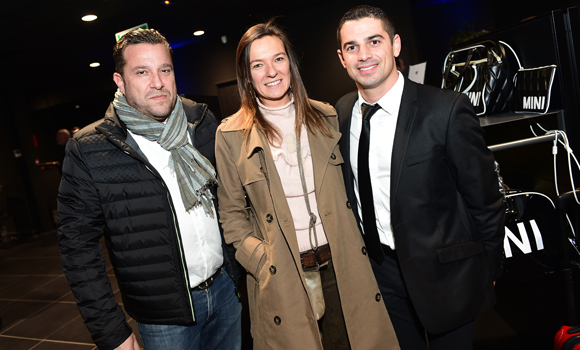 16. Jean-Michel  Allochon (NPS), Anne-Laure Taret (Altes) et William Ghrenassia (Mini Gauduel)