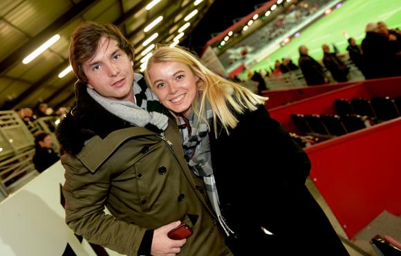 23. Marc-Antoine Ginon (LOU Rugby) et Laura Ferrier
