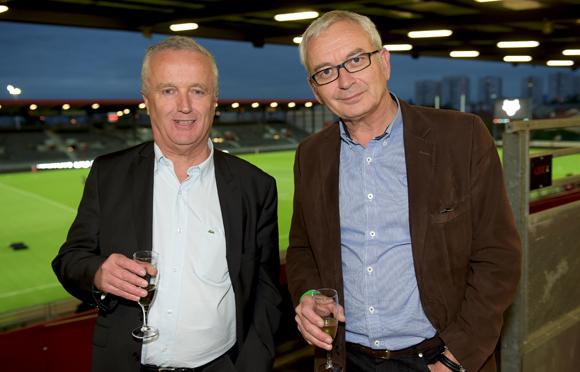 2. Eric Bajat (Société Générale) et Didier Molique (Gemmos)