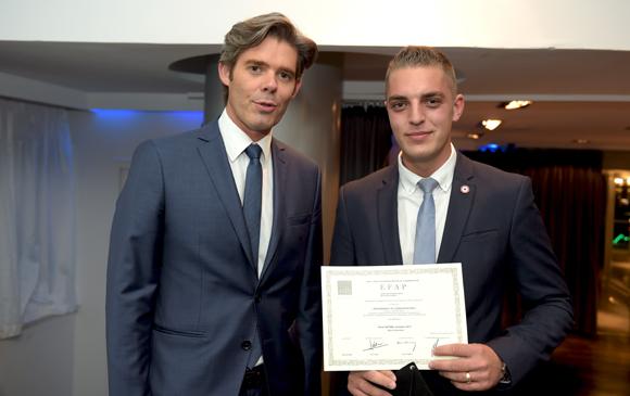 25. Michaël Peters, Euronews et Pierre Vattard, major Collectivités