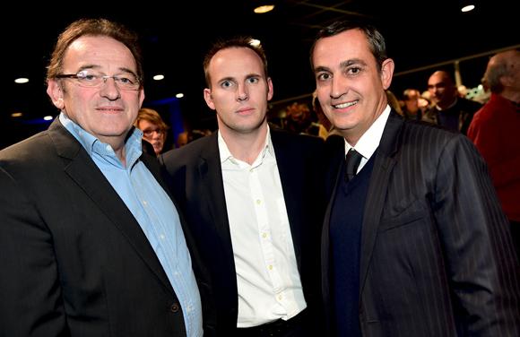 25. Jean Cuvy, son fils Jean-Philippe (Cuvy Automobile) et Xavier Gauduel