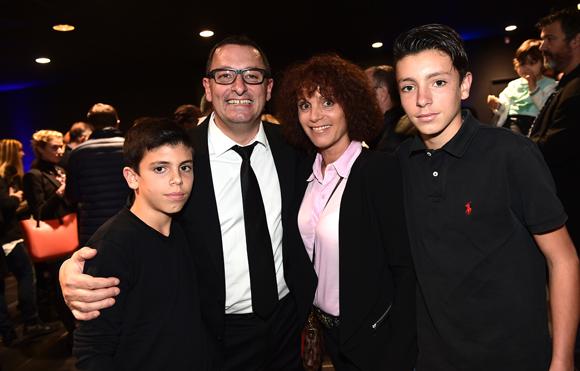 26. Richard Castronovo (BMW Gauduel Villefranche sur Saône), son épouse Karine (Jeunesse Global), leurs fils William et Yoan