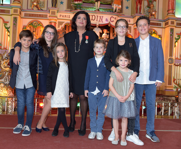 26. Mamie Françoise et tous ses petits-enfants