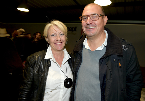 31. Nathalie Pradines (ComAdequat) et Jean-Jacques  Dumontet (Crédit Agricole)