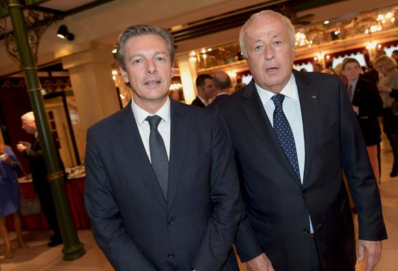 33. Pascal Blache, maire du 6ème et Alain Mérieux