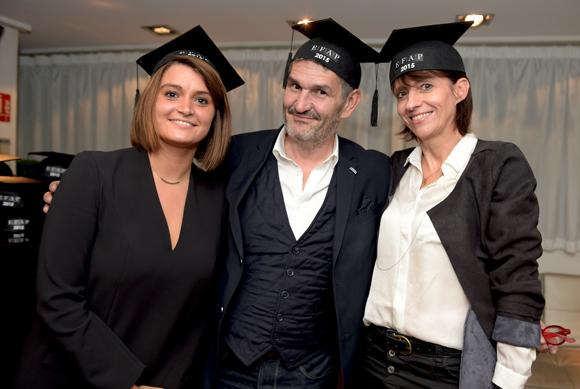 34. Laure Deschandol, ses parents Bernard et Nathalie