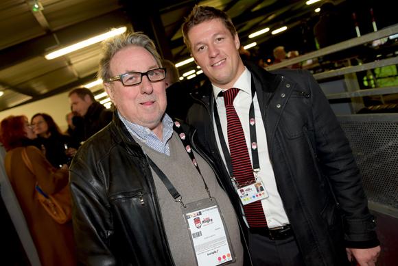 34. Jean-Marie Nauleau (Lyon People) et Mathieu Renaud (LOU Rugby)