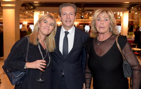 35. Pascal Blache, maire du 6ème, son épouse Christel et Ghislaine Mérieux