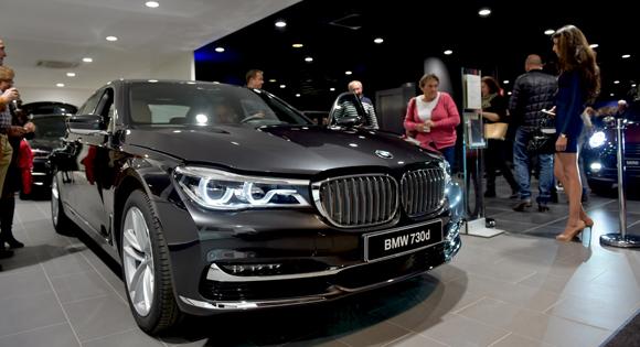 35. La nouvelle BMW 730D