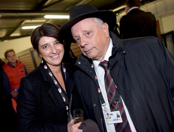 37. Vérane Letord (RMG Conseil) et Léandre Borbon (LOU Rugby)