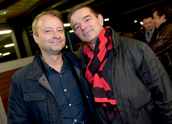38. Marco Polisson (Lyon People) et Bertrand Bourgeron (Agences Tourisques)