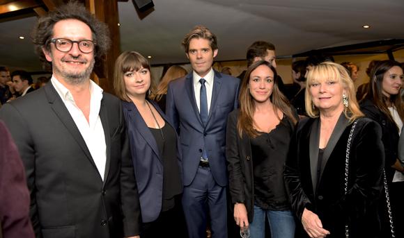 41. Jean-François Croës, Reine Roussel, le parrain Michaël Peters, Aurélie Moreau et Fabienne Fons (EFAP)