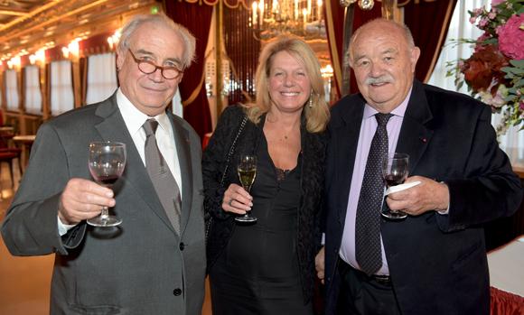 42. François Jeantet, Sylvie Douce et Pierre Troisgros