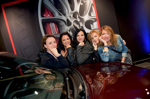 46. Fanette Gasquet (Les Coulisses), Elodie Pierron (Uniks), Caroline Denoyer (Mcs groupe), Pascale Betton et  Christèle Casasola