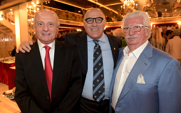 51. Pierre Orsi, Toto Li Vigni et Jacky Marguin
