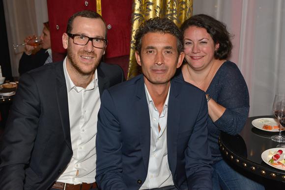 5. Olivier Gaugey (Comptoir de la Bourse), Dominique Bernard (Studio Phare) et Caroline Moné (cabinet Lega-cité)