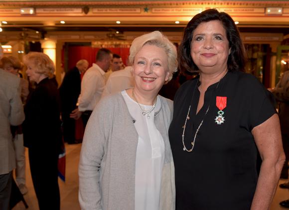 55. Renée Richard et Françoise Bernachon