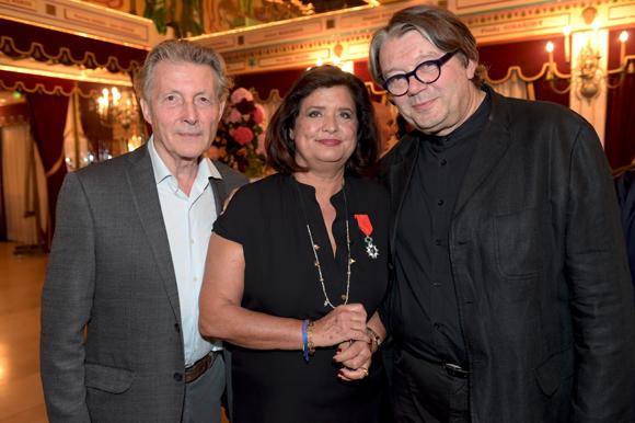 56. Le peintre Alain Chevrette, Françoise Bernachon et Alain Vavro (Vavro Design)