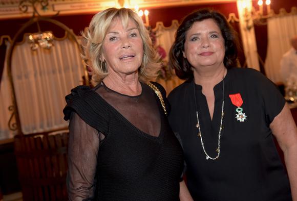 59. Ghislaine Mérieux et Françoise Bernachon