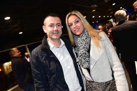 6. Laurent Neyret (SMI) et son épouse Sabah