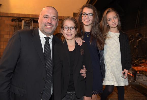6. Philipe Bernachon, ses filles Giulia, Carla et Paola