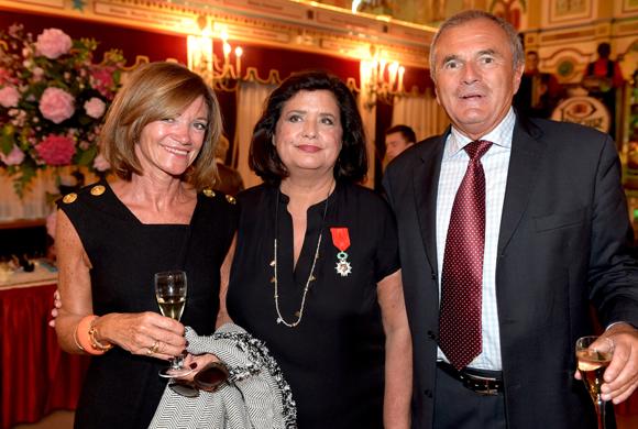 62. Nicole Dumonal, Françoise Bernachon et Henri-Daniel Dumonal