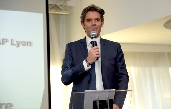 7. Michaël Peters, président du directoire Euronews et parrain de la promotion