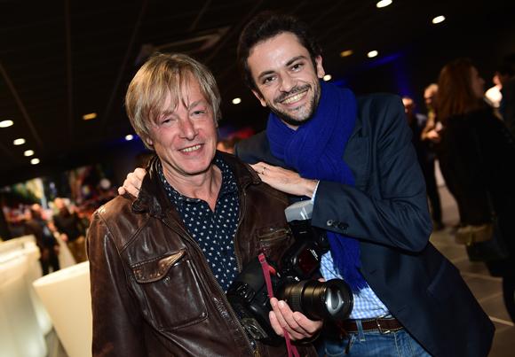 8. Le photographe Michel Goiffon et Benjamin Solly (Magazine Le Nouveau)