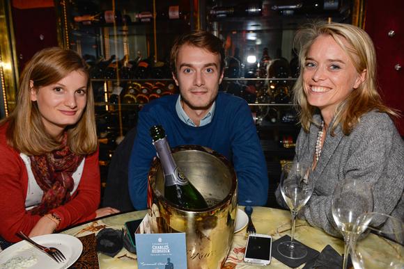 9. Pauline Cognet (Nutrisens), Edouard Noinski (Seb) et Laure Noinski (Voltaire avocats)