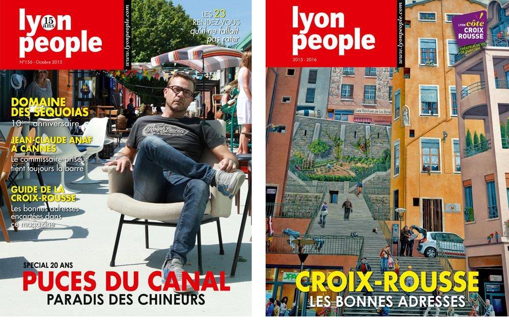 Lyon People octobre 2015. Deux pour le prix d'un !