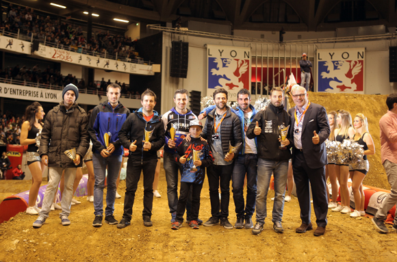 DCB International partenaire du Super Cross de Lyon