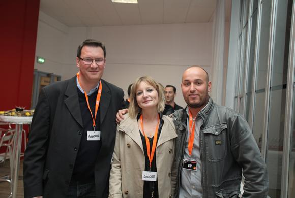 10. Stéphane Billon, Julie Delay (DCB) et Jérôme Brugger (Partition)