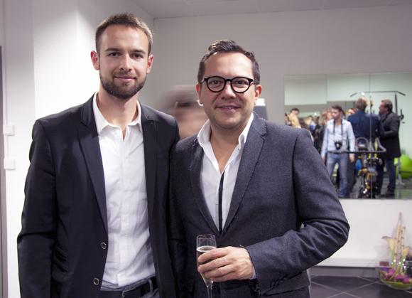 10. Emilien Jeannot (Entresport) et le couturier Nicolas Fafiotte