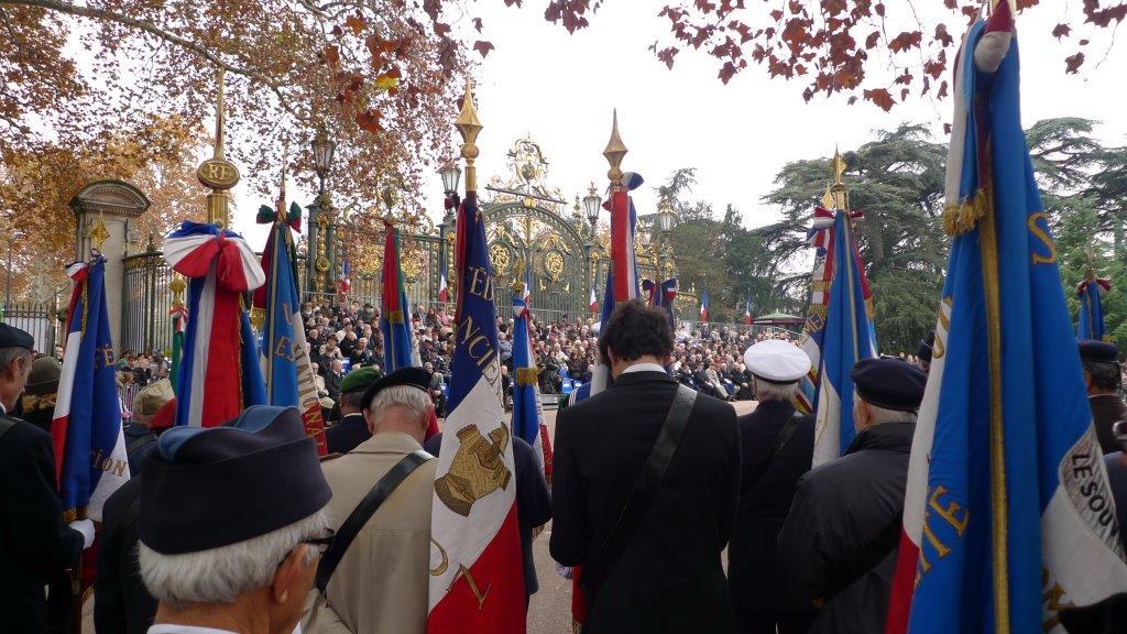 Les cérémonies du 11 novembre à Lyon