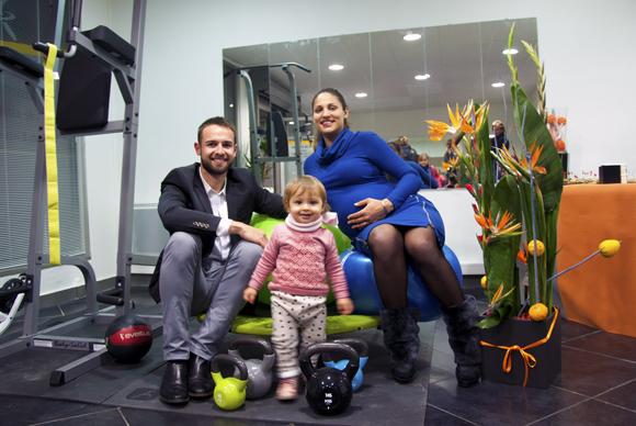 1. Emilien Jeannot, son épouse Sophia et leur fille