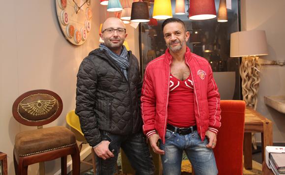 13. Gwenael Forestier, directeur boutique Montblanc et Thierry Aguirre