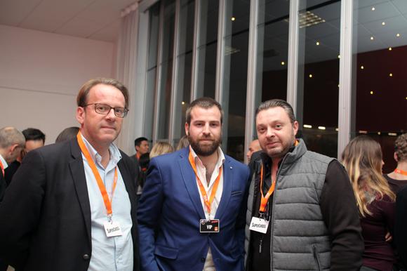 13. Olivier Michot (ANF Immobilier), Nicolas Goujon (Sagittaire Architecte) et David Garde (SAPE)