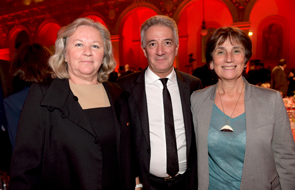 14. Martine (Formation des Notaires), son époux Roger Girardon et Françoise Pignol