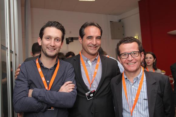 14. Grégoire Monchanin (DCB), Olivier Rouxel (H&C Real Estate), Bertrand Rudigos et Julien Rollet (DCB)