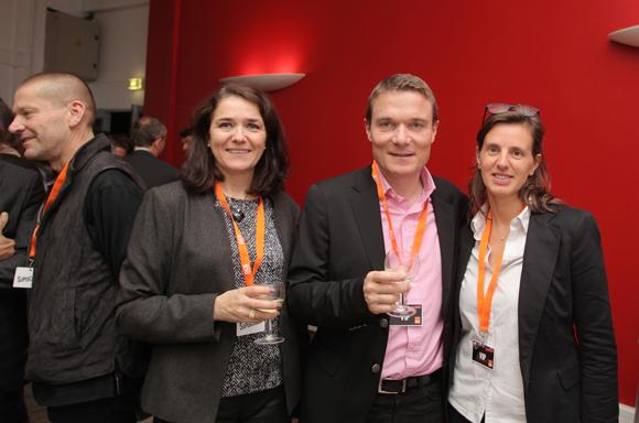 17. Cécille Frappat (Ortho Partner), Damien Nonat (Chabanne Architecte) et son épouse Eve