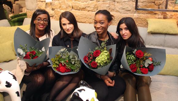 18.  Asmaa Bialo ( blog, lyonnaisesnextdoor.fr), Rebecca Barrault, Chanaelle Mutombo (Mlle Chanaelle) et Améni Ghandouri (blog, lyonnaisesnextdoor.fr)