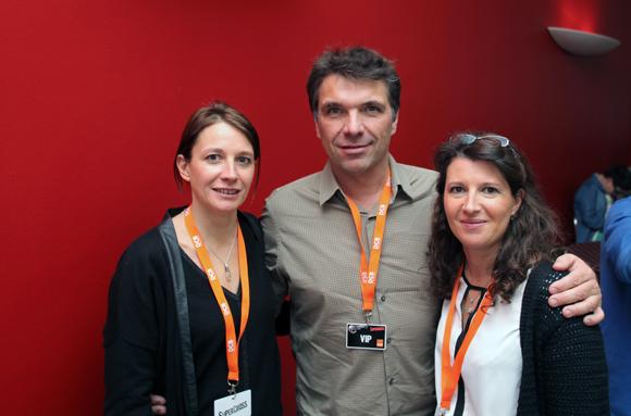 18. Véronique Bohé (DCB), Cédric Hamard (Kualinergie) et Sophie Bohé