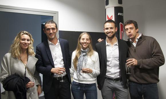 18. Candice Barbe (Madice), Sébastien Semoun (Lexcase), Anne-Julie Guiberteau (Defacto), Emilien Jeannot (Entresport) et Olivier Gret