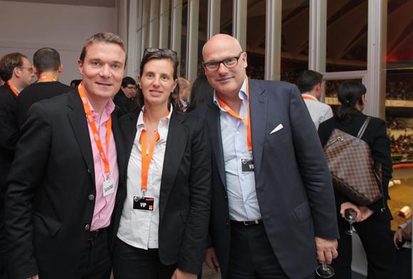 19. Damien Nonat (Chabanne Architecte), son épouse Eve et Didier Caudard-Breille (DCB)