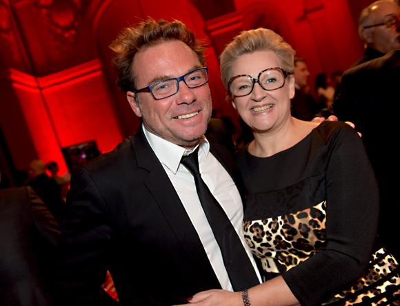 20. Pierre-Yves Gas (Agence Proxi'com) et Nicole Marguin
