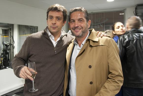 20. Emilien Jeannot (Entresport) et François Munoz (Garage Métropole)