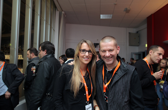 22. Laura Dussert (DCB International) et Philippe Boni (EGA)
