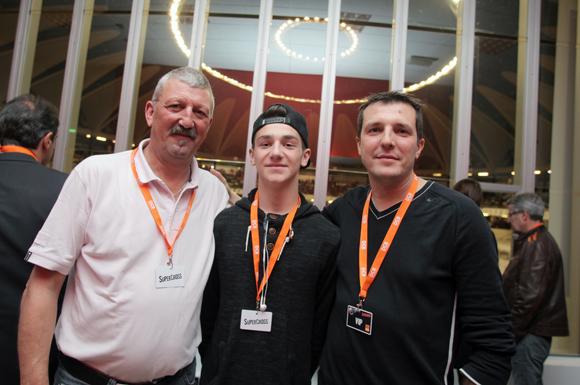 23. Philippe Nayez, son fils Lucas et William Goutherot