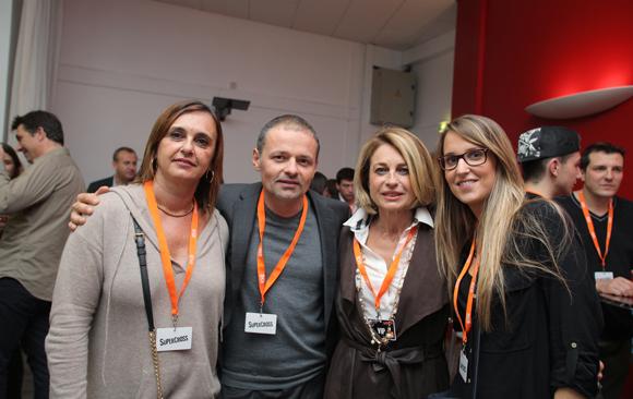 24. Sandrine Garambois (DCB International), Marc Stéphane Beau (Sagittaire Architecte Associés), Marie Caudard-Breille (DCB) et Laura Dussert (DCB International)